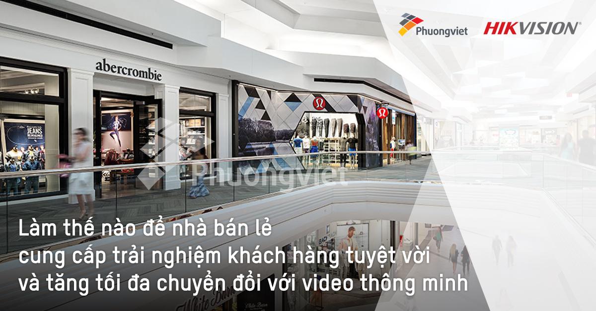 Giải pháp camera cho ngành bán lẻ
