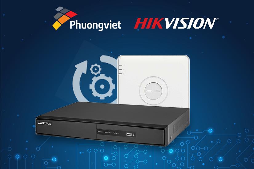 Hướng dẫn up firmware cho đầu ghi DVR/NVR camera IP